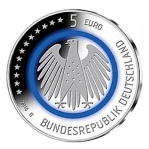 Weltneuheit 5 Euro Münze Planet Erde Emxpress Onlineausgabe