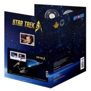 50 Jahre Star Trek Münze Und Briefmarken Emxpress Onlineausgabe