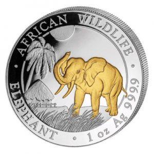 african-wildlife-elephant-2017-1-oz-silber-gilded