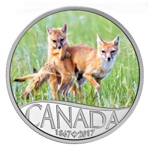 150-jahre-kanada-swift-fox-silber-koloriert
