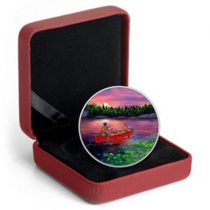 great-canadian-outdoors-sunset-canoeing-silber-koloriert-leuchteffekt-3