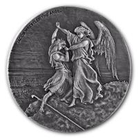 bibelserie-jakobs-kampf-mit-dem-engel-2-oz-silber-antik-finish