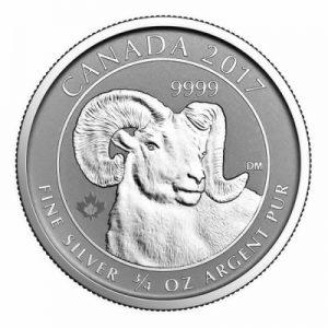 canada-bighorn-sheep-dreiviertel-oz-silber