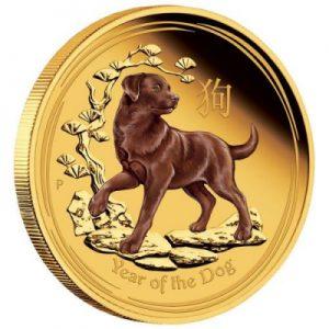 lunar-ii-dog-1-oz-gold-koloriert
