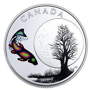 canada-thirteen-teachings-sucker-moon-silber-koloriert