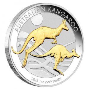 australian-kangaroo-2018-1-oz-silber-gilded