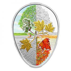 four-seasons-for-the-maple-leaf-1-oz-silber-vergoldet