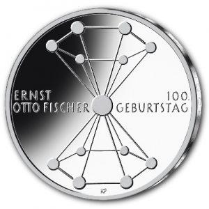 100-geburtstag-ernst-otto-fischer-silbermuenze-deutschland