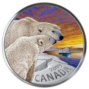 canadian-fauna-eisbaer-1-oz-silber-koloriert