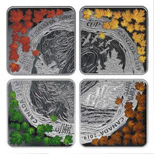 vier-elemente-muenzset-silber-koloriert