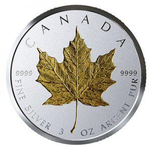 40-jahre-maple-leaf-3-oz-silber-gilded