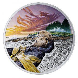 canadian-fauna-otter-1-oz-silber-koloriert