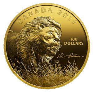 canada-robert-bateman-lion-10-oz-silber-vergoldet
