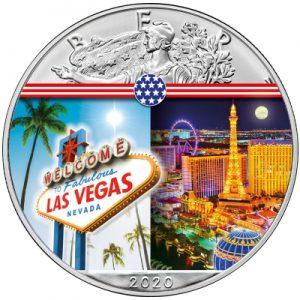silver-eagle-landmarks-las-vegas-1-oz-silber-koloriert