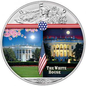 silver-eagle-landmarks-white-house-1-oz-silber-koloriert