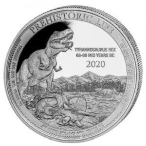 prehistoric-life-tyrannosaurus-rex-1-oz-silber