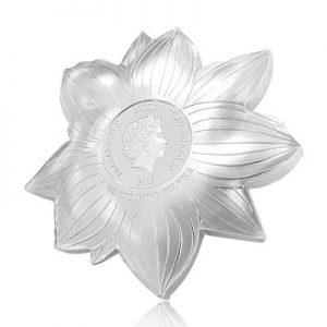 blumenserie-lotus-1-oz-silber-koloriert-wertseite